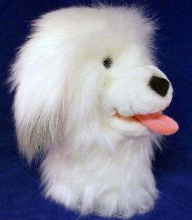 Dakin Plush Old English Sheepdog Hand Puppet Shaggy Dog Plush