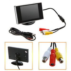 "New 3 5"" TFT LCD Color Screen Car Rearview Monitor DVD VCR"