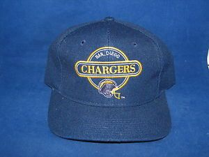 Vtg NFL San Diego Chargers Snapback Cap Hat New Sport Specialties
