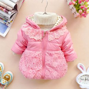 Baby Girls Clothes Kids Winter Jackets Outwears Snowsuits Clothing Hoodies Coats