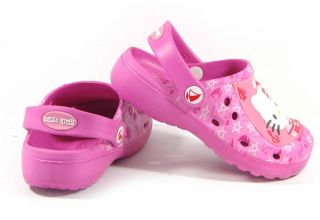 Hello Kitty Marin Kids Sandals Shoes for Girls Toddler Infant Casual Clogs Pinks