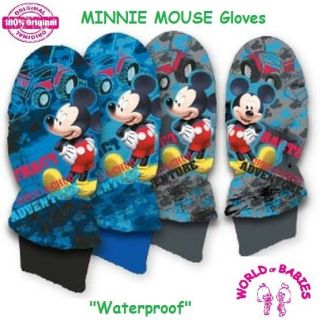"Baby Kids Boys Girls Winter Waterproof Gloves ""Mickey Mouse"""
