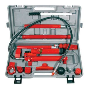 10 Ton Hydraulic Auto Car Body Frame Repair Kit Tool