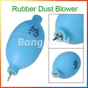 Rubber Dust Air Blower Cleaning Kits Tool for Lens Filter Camera Watch Blue