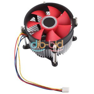 90mm PC Cooling 4 Pin Fan Cooler System Computer Case CPU Heatsink Coolant 9cm