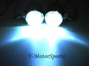 Motorcycle Chrome Fog LED Light for Harley Vrod VRSC V Rod Running XL