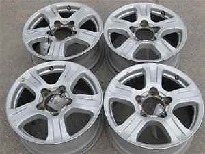 "07 12 Toyota Tundra 18"" Alloy Wheels Rims Set LKQ"