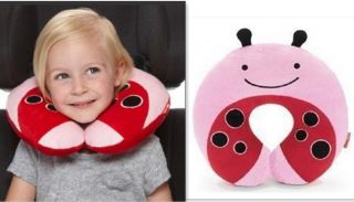 Baby Kid Children Lovely Neck Pillow Car Seat Travel Neck Rest Soft Plush Animal