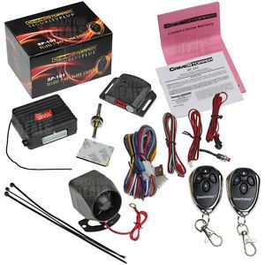 Crimestopper SP 101 Deluxe Car Security Alarm Keyless Entry System