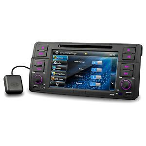 BMW M3 E46 in Car DVD Player GPS System Nav Stereo Radio Bluetooth iPod 2013 Map