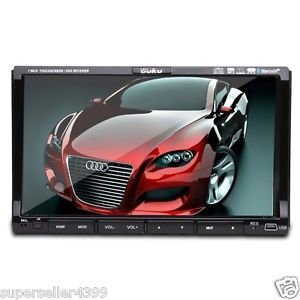 "Auto 2 DIN 7""Car Stereo DVD CD  TV Radio iPod Player"