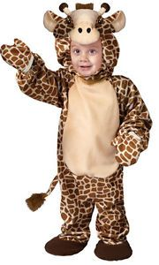 Giraffe Safari Animal Infant Kids Boys Baby Girls Halloween Costume 6M 12M