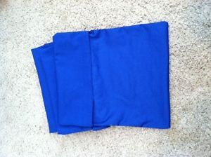 The Original Seat Sacks Chair Pockets Set of 18 Beautiful RARE Royal Blue