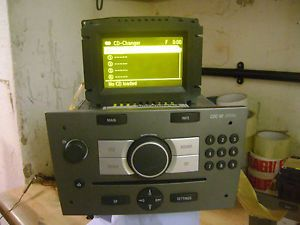 Vauxhall Vectra C CDC40 Opera CD Changer Player Radio Stereo CDC 40 Display