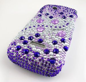 Purple Sil Pink Diamond Case Cover T Mobile Sidekick 4G