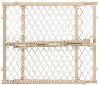 Evenflo Position and Lock Wood Safety Gate 202