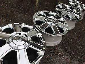 "20"" 2014 Toyota Tundra Sequoia 1794 Factory Stock Chrome Wheels Rims 5x150"