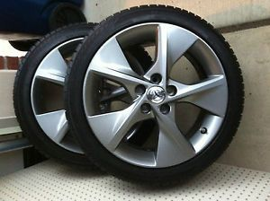 "4 18"" Toyota Camry 5 Spoke Alloy Wheels Rims with Tires and TPMS"
