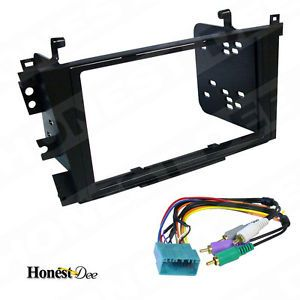 CL Car Stereo Double D 2 DIN Radio Install Dash Kit w Bose Wire Harness 95 7868B