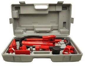 New 4 Ton Hydraulic Body Frame Repair Kit Auto Body Shop Equipment Power Tool