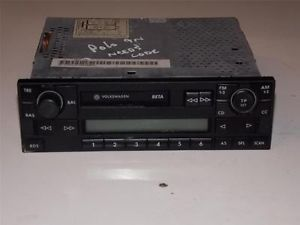 VW Polo 9N Radio Cassette Player Part No 6x0035152 Needs Security Code