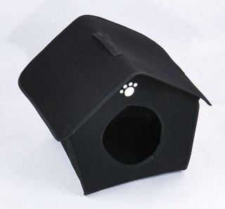 Hot Folder Soft Warm Pet Pad Bed Comfortabl Portable Pet House Cat Dog House L