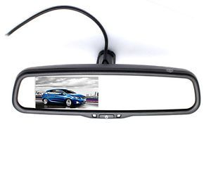 "4"" TFT LCD Screen Car Auto Rearview Reverse Mirror Monitor for DVD Camera VCD"