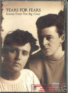 DVD Tears for Fears Big Chair Live Concert SEALED