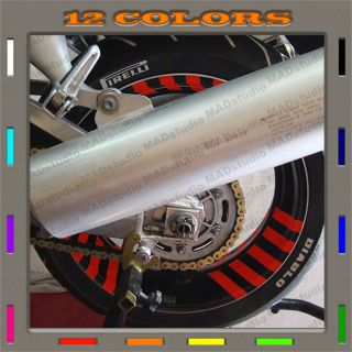 Custom Bike Wheels Stickers Decals Suzuki Honda Yamaha Kawasaki Easy Install 005