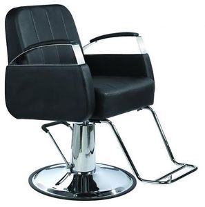 New Black Modern Hydraulic Barber Chair Styling Salon Beauty Spa Supplier 8811