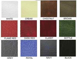 PVC Vinyl Heavy Duty Leather Leatherette Chair Upholstery Fabric Fire Retardant