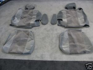 03 06 Suburban Tahoe Yukon Front Captains Seat Covers