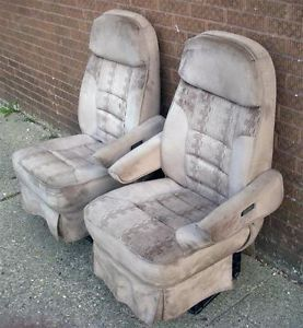 1998 2003 Dodge RAM 2500 Coachmen Full Size Van Reclining Seats Captains Chairs