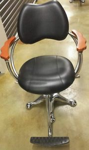 Minerva Professional Hydraulic Styling Barber Chair Hair Beauty Salon Equipment