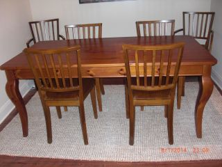 Relocation Sale Pottery Barn Dining Table Chairs Set