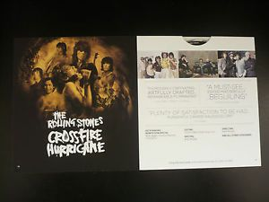 The Rolling Stones Crossfire Hurricane HBO Emmy FYC DVD 2013 Documentary