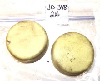 John Deere 216 Tractor Front Wheel Bearing Dust Covers