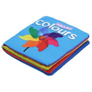 Baby Infant Kids Children Intelligence Development Cognize Cloth Book Funny Toy