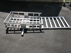 500 lb Aluminum Mobility Wheelchair and Scooter Carrier Haul Master 67599