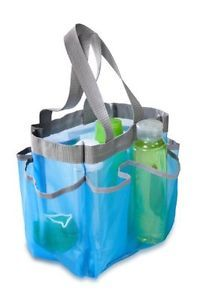 Blue Quick Dry Shower Tote College Essentials Dorm Room
