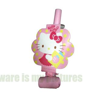 Sanrio Hello Kitty Birthday Party Supply Blowout x6 Blowouts h160