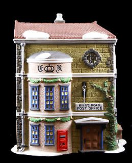 Dept 56 Dickens Village King's Road Post Office 58017 Lighted Christmas House