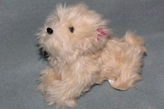 Fur Real Teacup Pup Maltese Puppy Dog FurReal Tan Beige