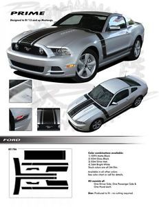 Ford Mustang Graphics Decals Stripes Emblems Trim Kit EE1786 Models 2013 2014