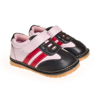 Squeaky Flexible Boys Girls Baby Childrens Kids Toddler Shoes Size 3 4 5 6 7