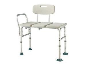 Heavy Duty Shower Bath Safety Transfer Chair Seat Bench 450 lbs Weight Capacity