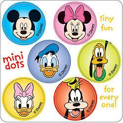 90 Disney Mickey Mouse Minnie Goofy Donald Stickers Party Favors Teacher Supply