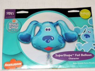 "New Blues Clues Super Shape Foil Balloon 28"" x 20"""