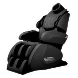 Fujita KN9003 Massage Chair with Foot Roller Open Box Item Black OS7075R