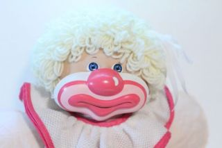 Cabbage Patch Kids Vintage Clown Plush Toy Doll 1985 Original Outfit